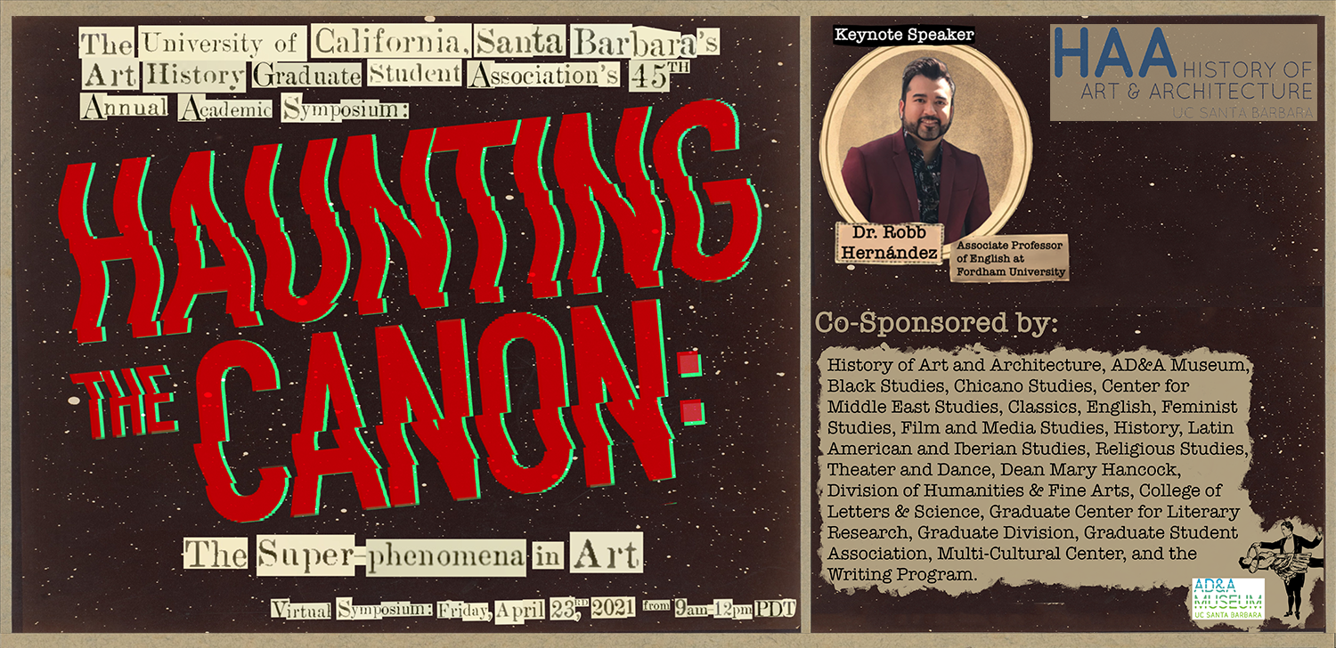 Graduate Student Association Symposium 2021: Haunting the Canon