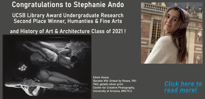 Stephanie Ando, 2021 LAUR Second Place Award Winner